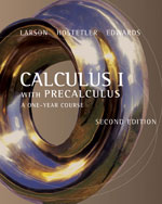 Calculus I with Precalculus 2nd edition