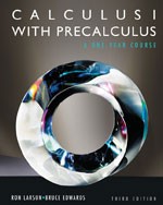 Calculus I with Precalculus 3rd edtion