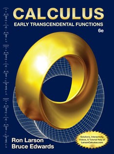 Calculus Early Transcendental Functions 6th Edition